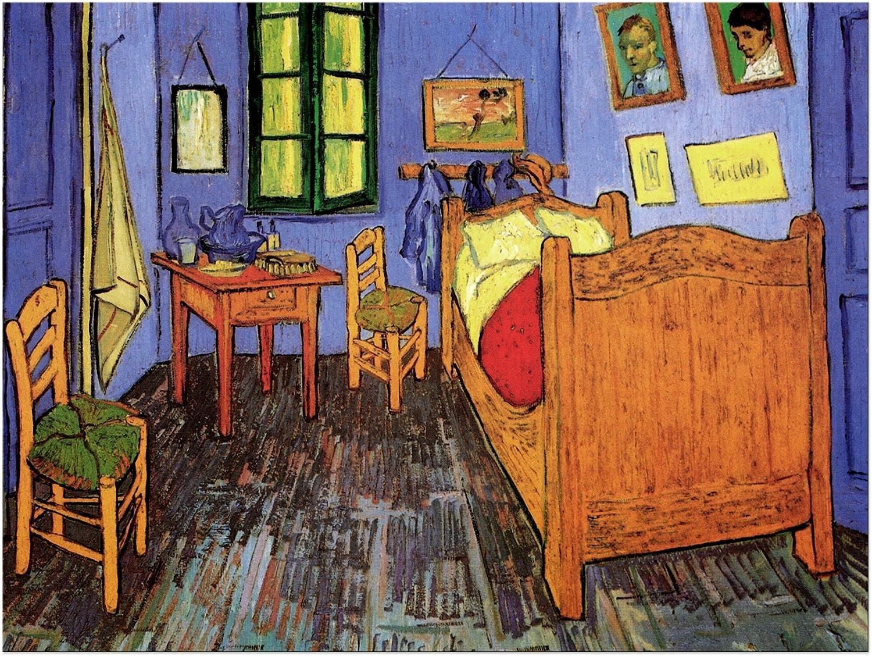 Tableau Toile Images sur Toile Vieux ma/îtres 40x30 cm Photo sur Toile Toile d/éco imprim/ée Vincent Van Gogh La Chambre de Vincent /à Arles Bilderdepot24 Art Print
