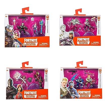 Amazon Com Moose Toys Fortnite Battle Royale Collection Black