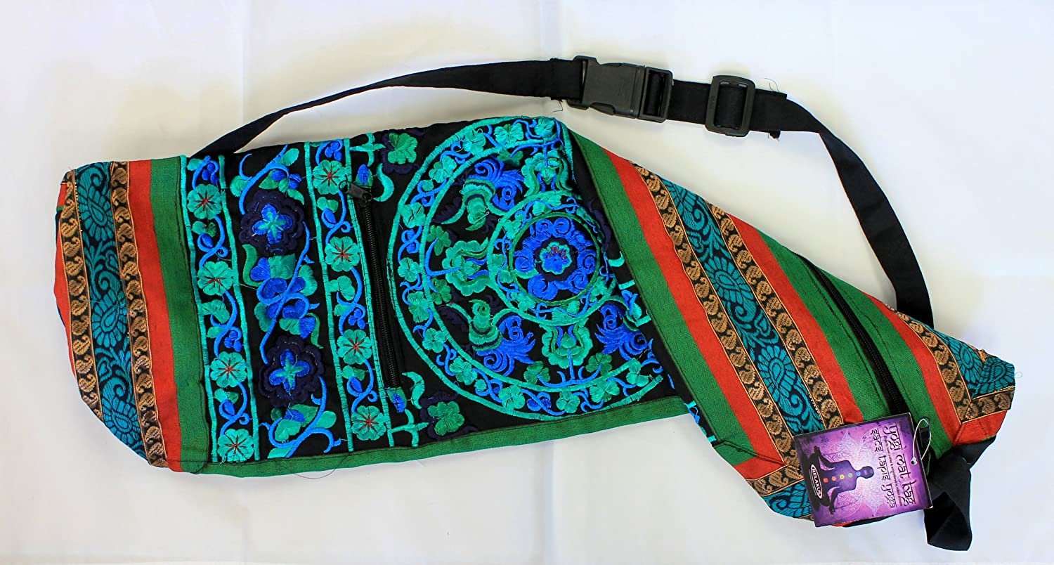 Amazon.com : Hand Embroidered Bokhara Yoga Mat Bags (27