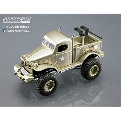Greenlight 1: 64 Stacey David's 1941 Military 1/2 Ton 4X4 SGT. Rock Diecast Vehicle: Toys & Games