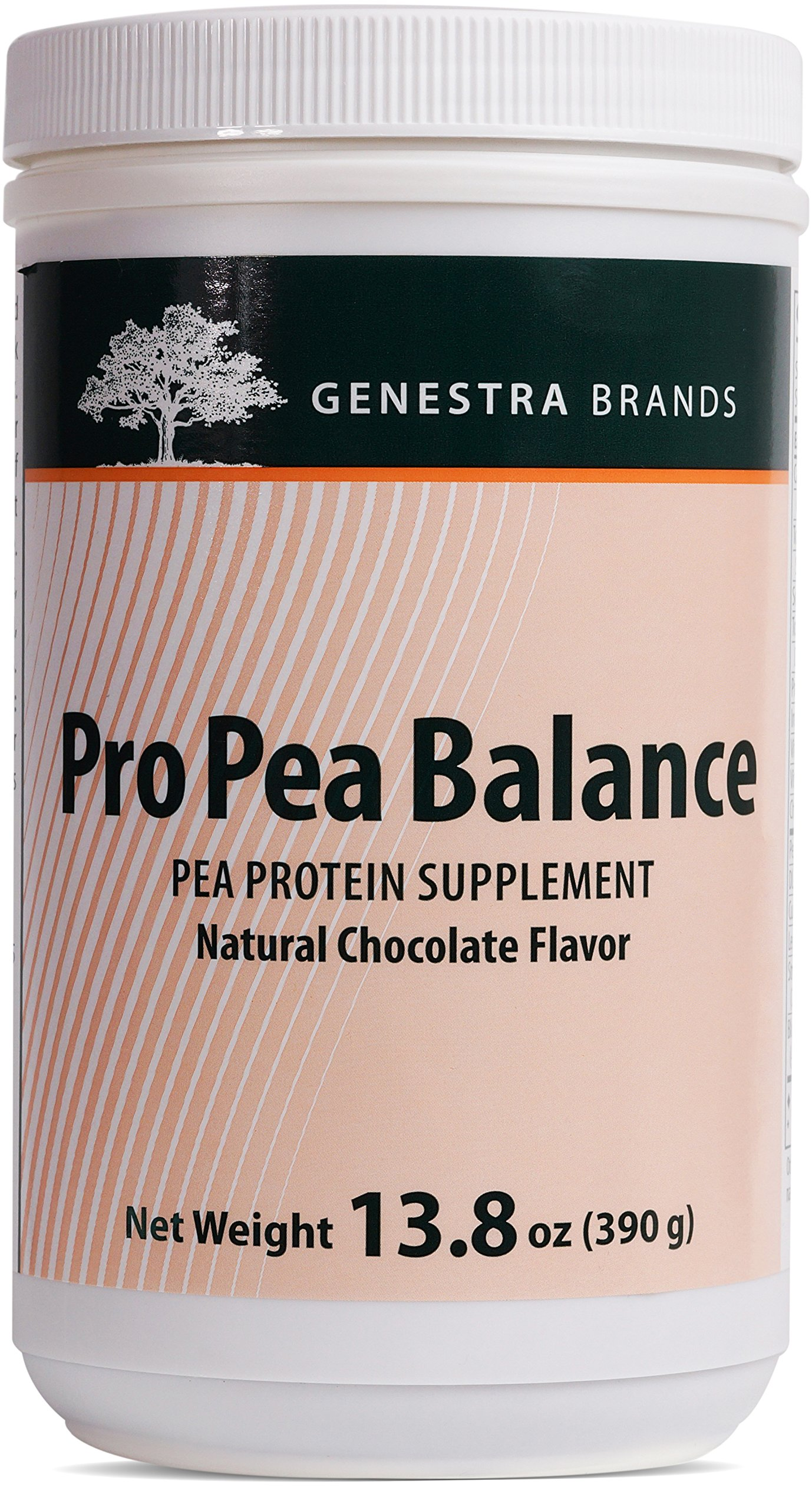Genestra Brands - Pro Pea Balance - Pea Protein Supplement (Chocolate Flavor) - 13.8 oz.