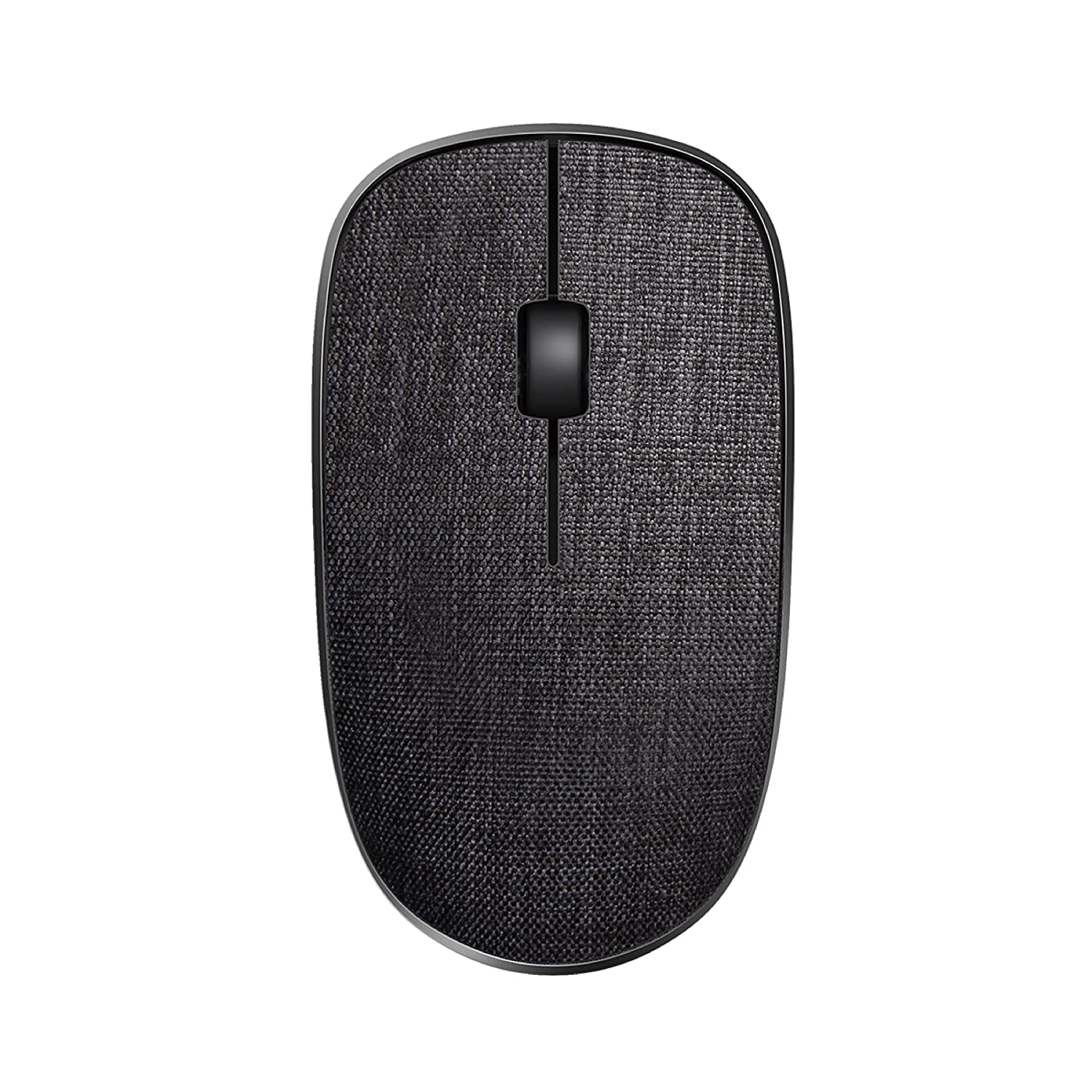 Rapoo 3510 Plus Wireless Optical Mouse(Black)