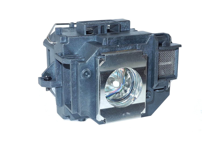 YODN ELPLP58 - Lámpara de repuesto para EPSON EB-S9, EB-W10, EB-W9 ...
