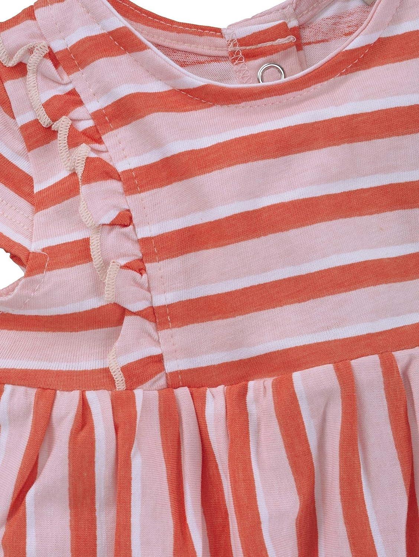 TOM TAILOR M/ädchen Kleider /& Jumpsuits Gestreiftes Kleid mit R/üschen
