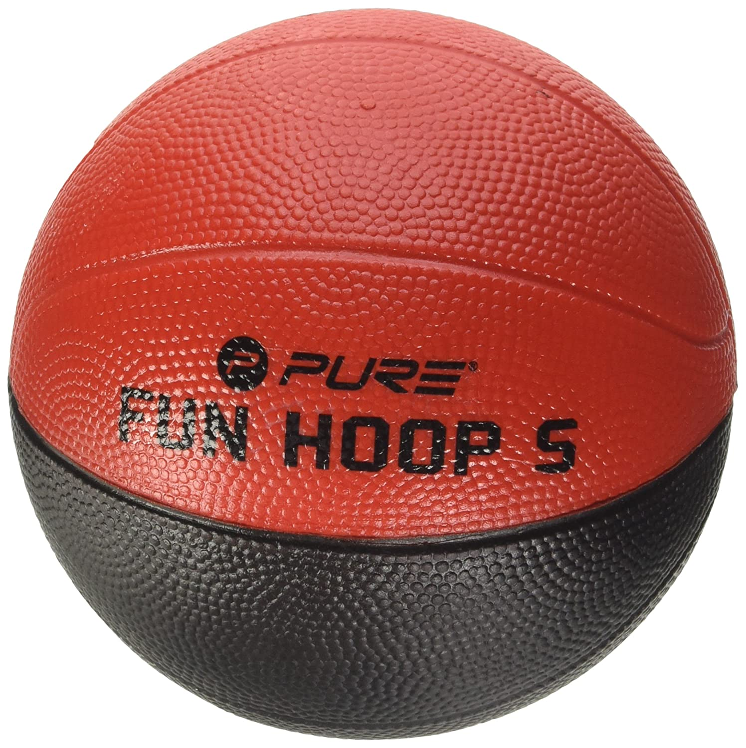 Pure2Improve Basketball 5.0 Schaumstoff, Schwarz/Orange, 13.8 cm PURG0|#Pure2Improve P2I100400