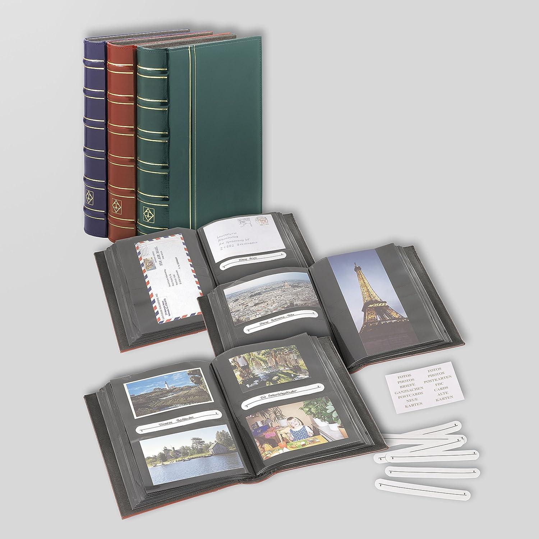 Briefe oder 100 Panoramafotos! Vielzweckalbum Multi für 200 Postkarten Fotos