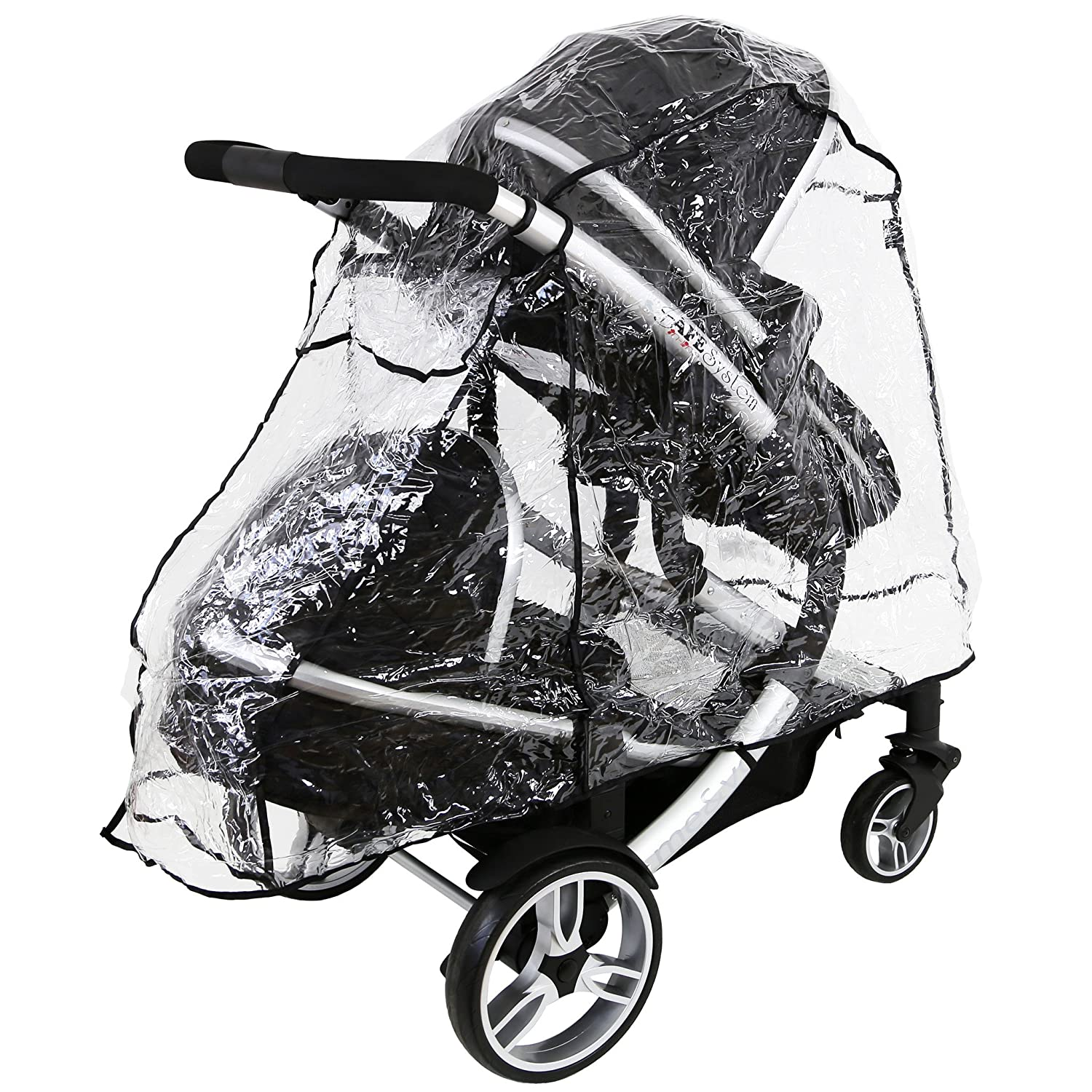iSafe Tandem Raincover to Fit BabyStyle Oyster Max 2 Tandem