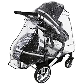 Twin Buggy// Stroller Obaby Universal Raincover Double