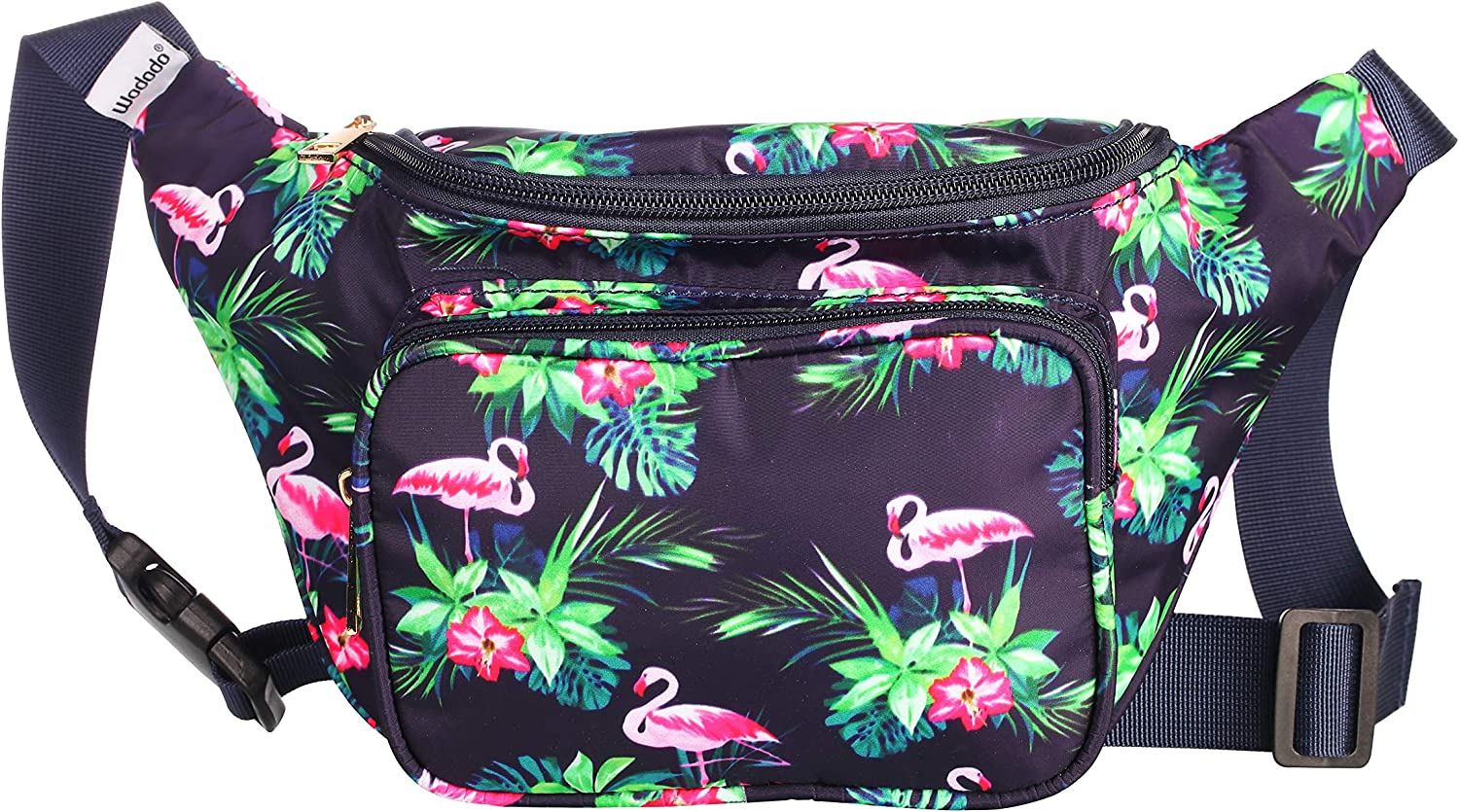 Plaid Pineapple Sport Waist Pack Fanny Pack Adjustable For Hike