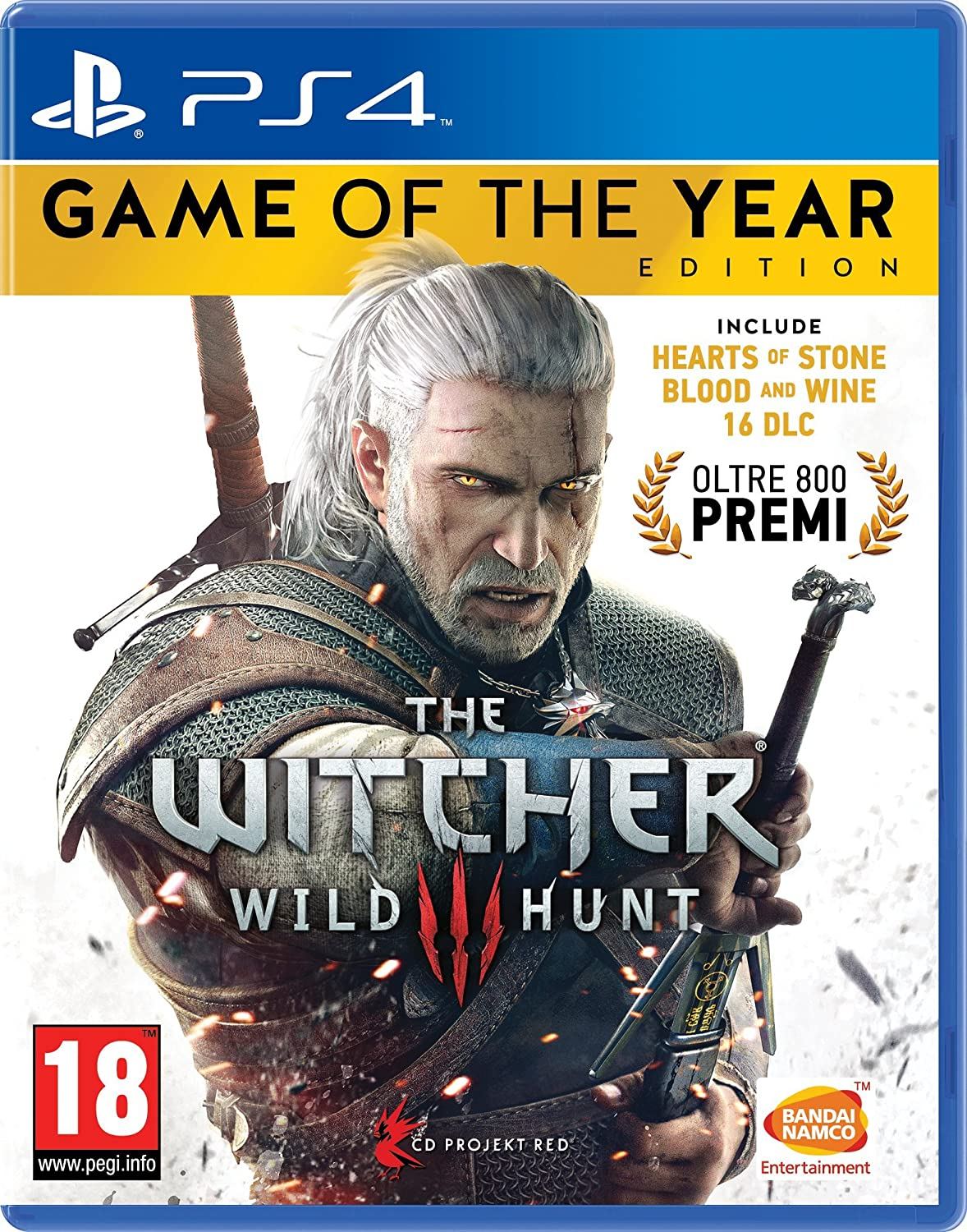 The Witcher III - Game Of The Year - PlayStation 4: No Name