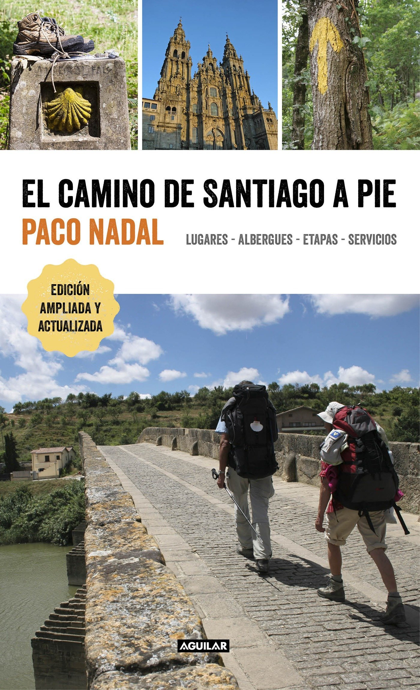 El camino de Santiago a pie / The Camino de Santiago On Foot: Places,  Lodging, S tages, and Services: Lugares, albergues, etapas, servicios  (Spanish ...