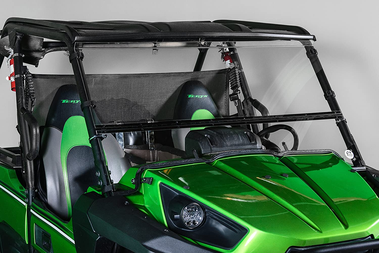 Kawasaki Teryx Full Tilting Utv Windshield Only Fits 2015 Wiring Schematic The 4 Seater 2012 2014 Made In Usa Best Of Both World Half When You Want And