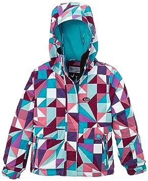 RIP CURL Sorcha Printed - Chaqueta de esquí para niñas, color (quarry),