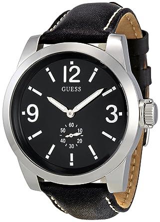 guess men s analogue watch w10248g1 black dial guess amazon guess men s analogue watch w10248g1 black dial