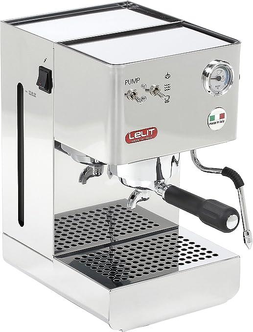 Lelit PL41 Plus Glenda, Máquina de Espresso Semiprofesional ...