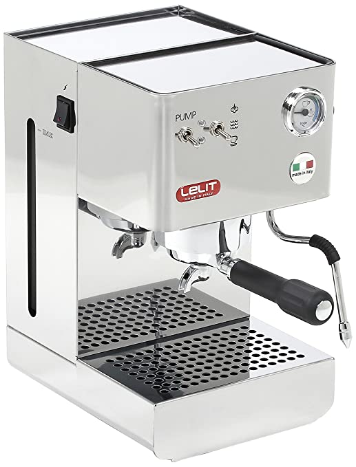 Lelit PL41PLUS - Cafetera de espresso manual, color plateado ...