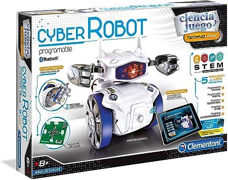 El kit adecuado para poder montar su propio robot, con un módulo bluetooth y 5 modalidades de juego