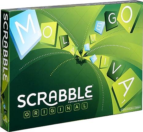 Mattel Games Y9594 - Scrabble Original, Juego de mesa para adultos y para niños a partir de 10 años, color/modelo surtido: Amazon.es: Juguetes y juegos