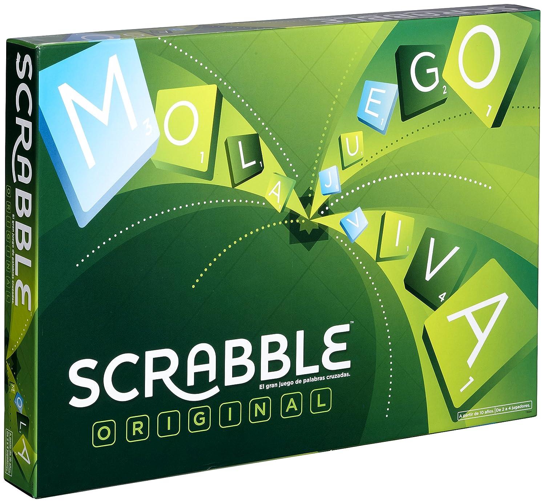 Mattel Games Scrabble Original Juego De Mesa Mattel Y9594 Amazon