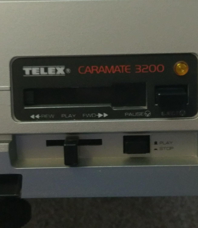 CARAMATE 3200 TELEX CARAMATE 3200 Slide Projector w// Apollo Zoom Lens 100-150mm F//3.