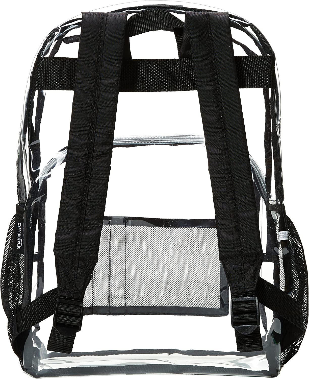 Clear Basics Stadium Approved Mini Backpack