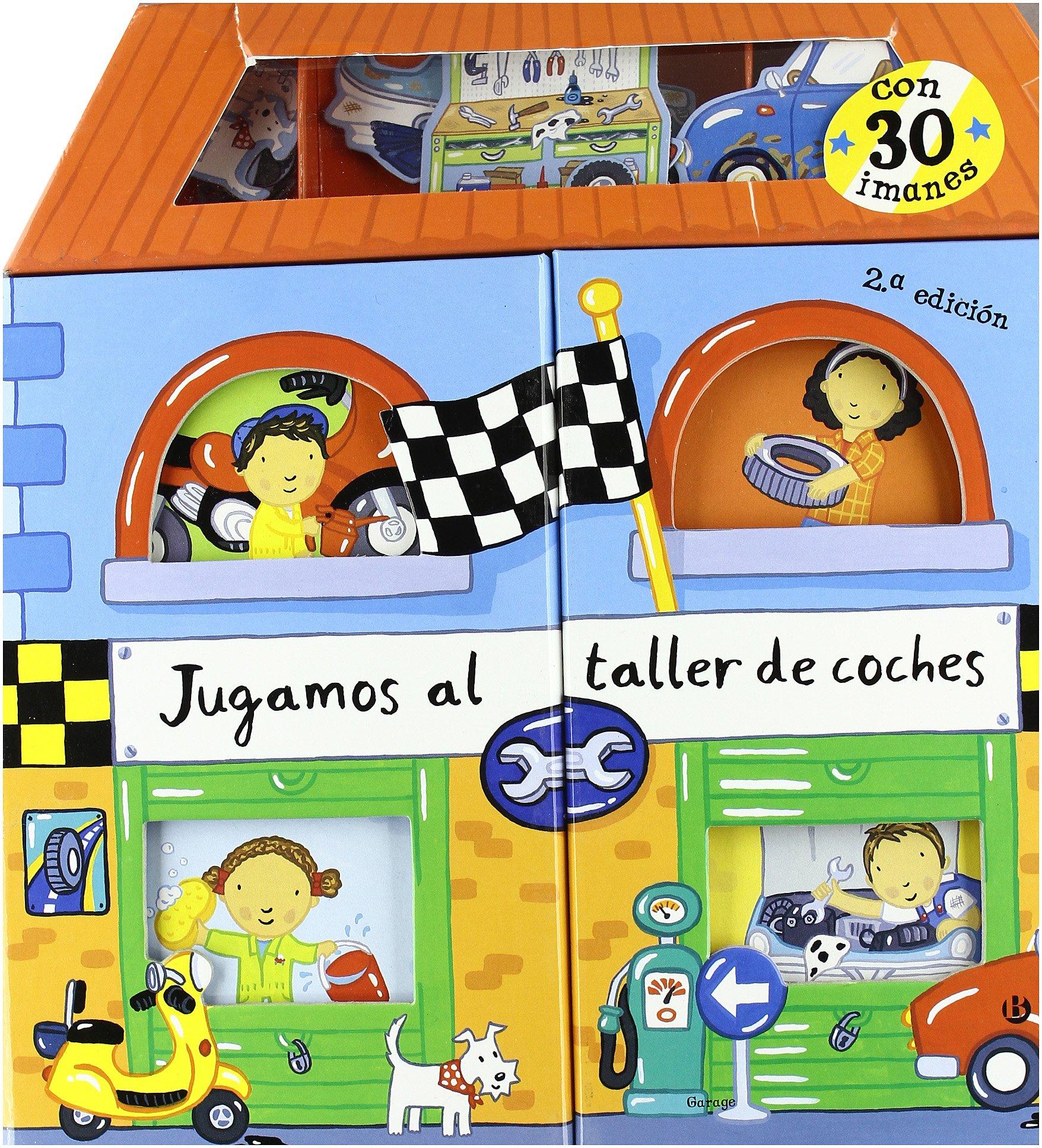 Jugamos al taller de coches Castellano - Bruño - Libros Con ...