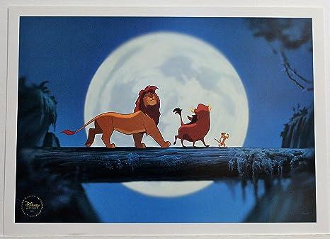Amazoncom Disney Lithograph Art Print 10 X 14 The Lion