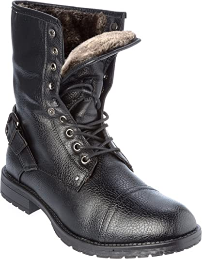 lined dress boots