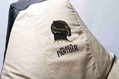 Cheap Black Panther Comics Superhero Comfortable Kids Adult Game Outdoor Indoor Lounge Chair Beanbag Cover Inner Bag Without Beans Black Panther bean bag chair for sale