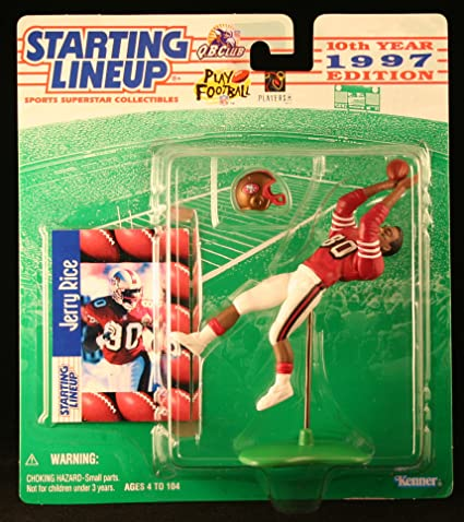 Jerry Rice NFL San Francisco 49ers 1995 Starting Lineup Collectible