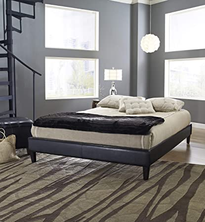 Amazon Com Boyd Sleep Madigan Upholstered Platform Bed Frame With