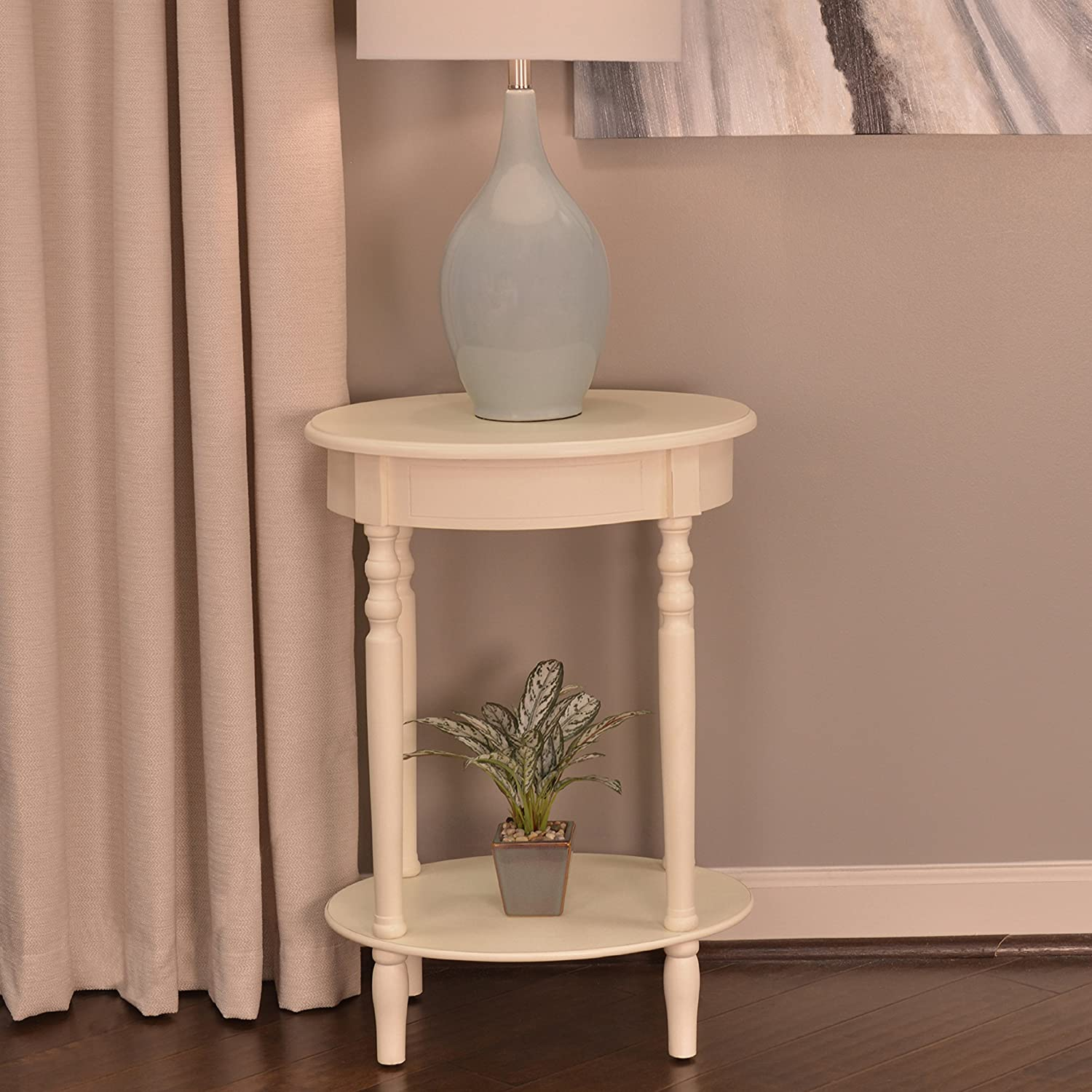 - Amazon.com: Décor Therapy Simplify Oval Accent Table, Antique