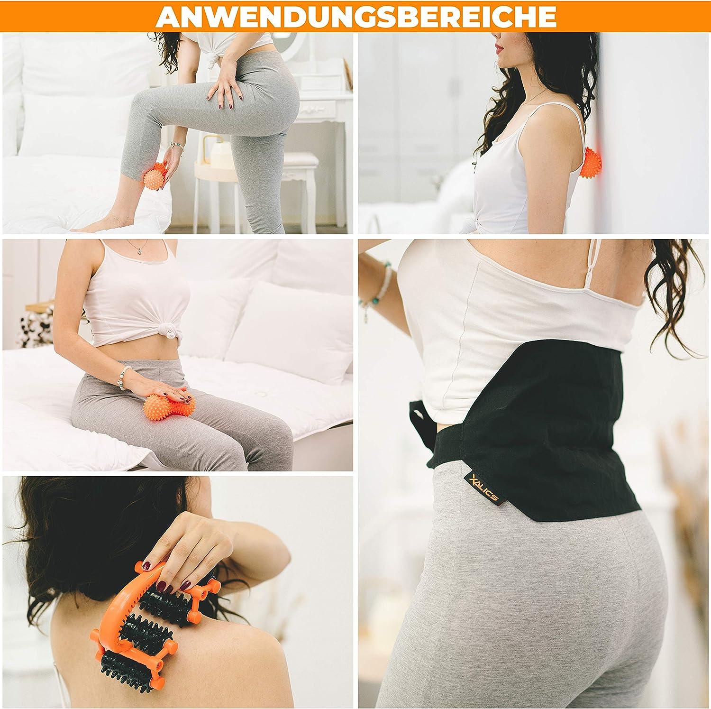 Mit Zubehör für Gelenk- und Rückenschmerzen