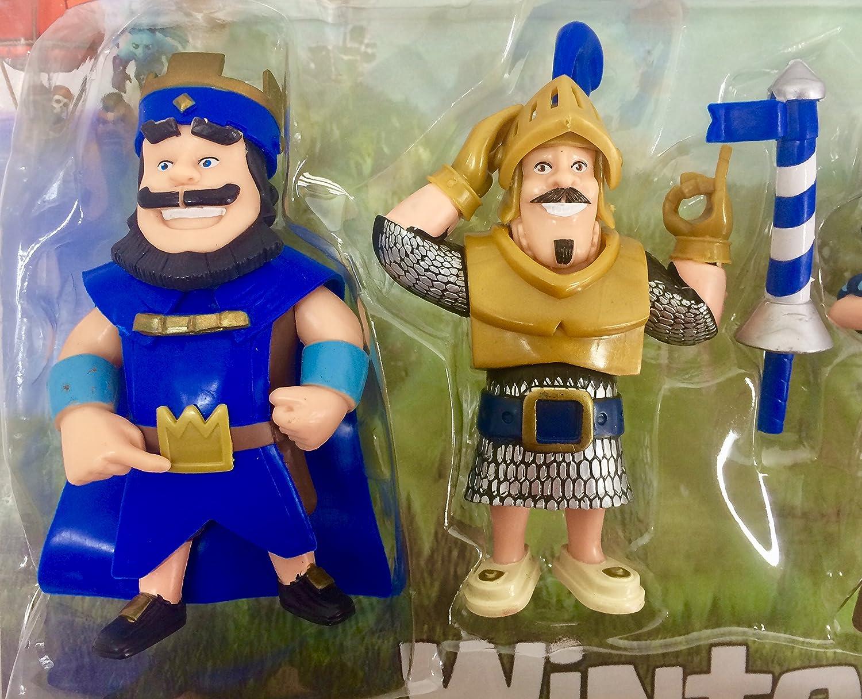 Lote de 6 Figuras inspiradas en Clash of Clans . 12 Cms..: Amazon.es: Juguetes y juegos