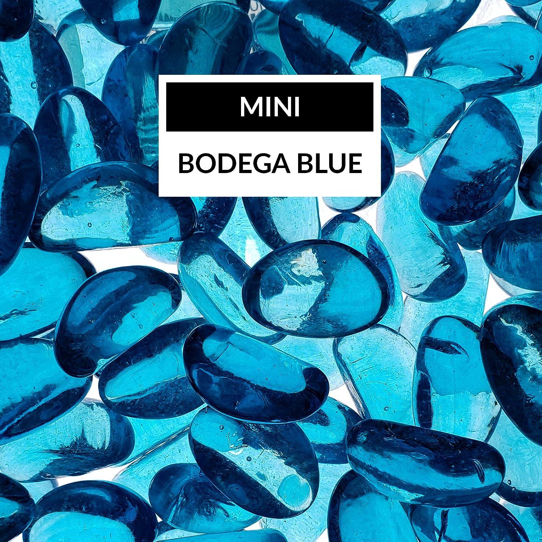 Bond Manufacturing 67994 LavaGlass Mini Fire Pit Dispersion Glass, Bodega Blue