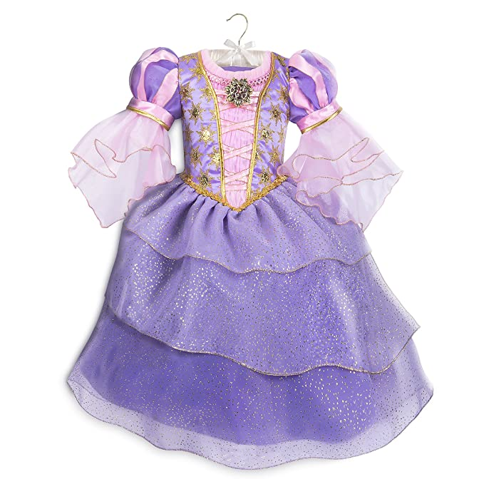 f048de18ba8a Amazon.com: Disney Rapunzel Costume for Kids - Tangled Purple: Clothing