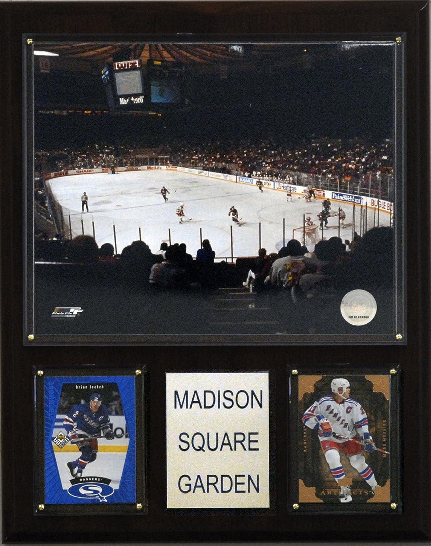 NHL Madison Square Garden Arena Plaque