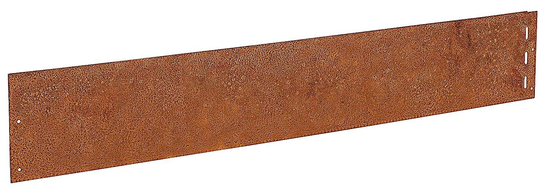 Lawn Edging 18 cm Mowing Edges Corten Steel Metal 1 mm: Amazon.co.uk ...