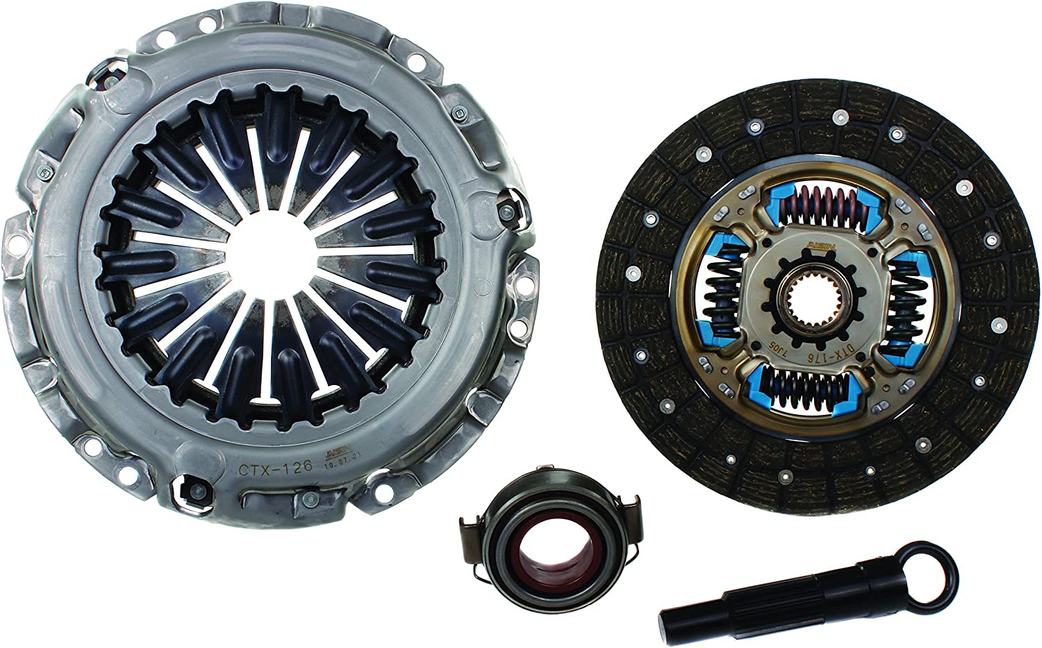 AISIN CKT-076 OE Replacement Clutch Kit with Cover Disc Throwout Bearing and Alignment Tool