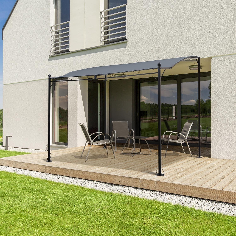 Blumfeldt Allure Roof gris techo de repuesto • tapicería Pergola ...