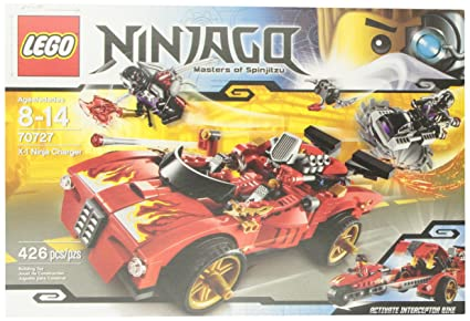 Amazon.com: LEGO Ninjago 70727 Cargador Ninja X-1.: Toys & Games