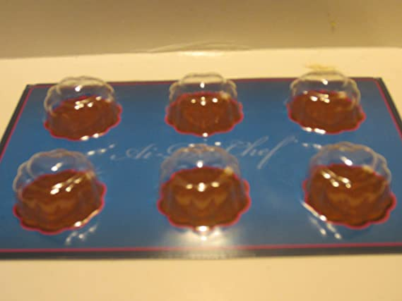 Amazon.com: Al-De-Chef Chocolate Candy Mold - Intertwined Hearts: Kitchen & Dining