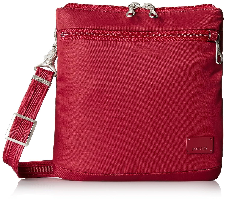 PacSafe Citysafe CS50 anti-theft cross body purse Umhängetasche, 22 cm, 1,6 liters, Violett (Mulberry 629) 20200629