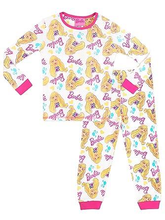 20b5c89a11 Barbie - Pijama para niñas - Barbie - 7 - 8 Años  Amazon.es  Ropa y  accesorios