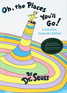 Oh The Places Youll Go Graduation Keepsake Edition