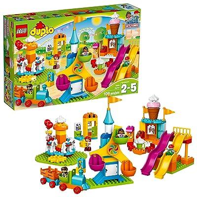Lego DUPLO - Le parc d'attractions - 10840 - Jeu de Construction