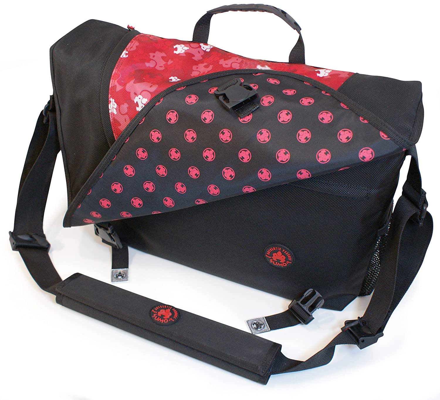 Amazon.com: Sumo Sumo Laptop Mensajero Bag- 16 pulgadas PC / 17-Inch Mac (Red Camo): Electronics