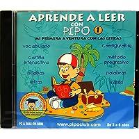 APRENDE A LEER CON PIPO 1 - (Sólo CD-ROM)