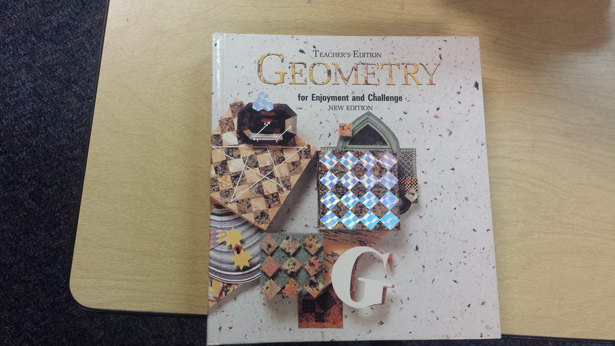 McDougal Littell Geometry for Enjoyment & Challenge: Annotated Teacher  Edition Geometry 1991: Amazon.co.uk: MCDOUGAL LITTEL: 9780866099660: Books