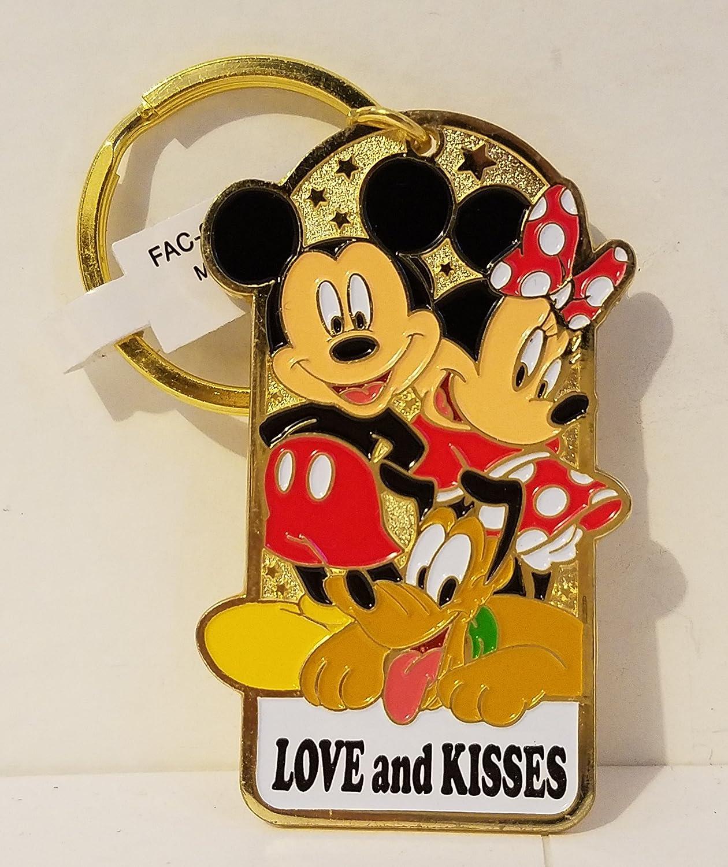 Parques de Disney Mickey Mouse Minnie Mouse Pluto Llavero de ...